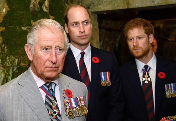 Prince Charles Prince William and Prince Harry