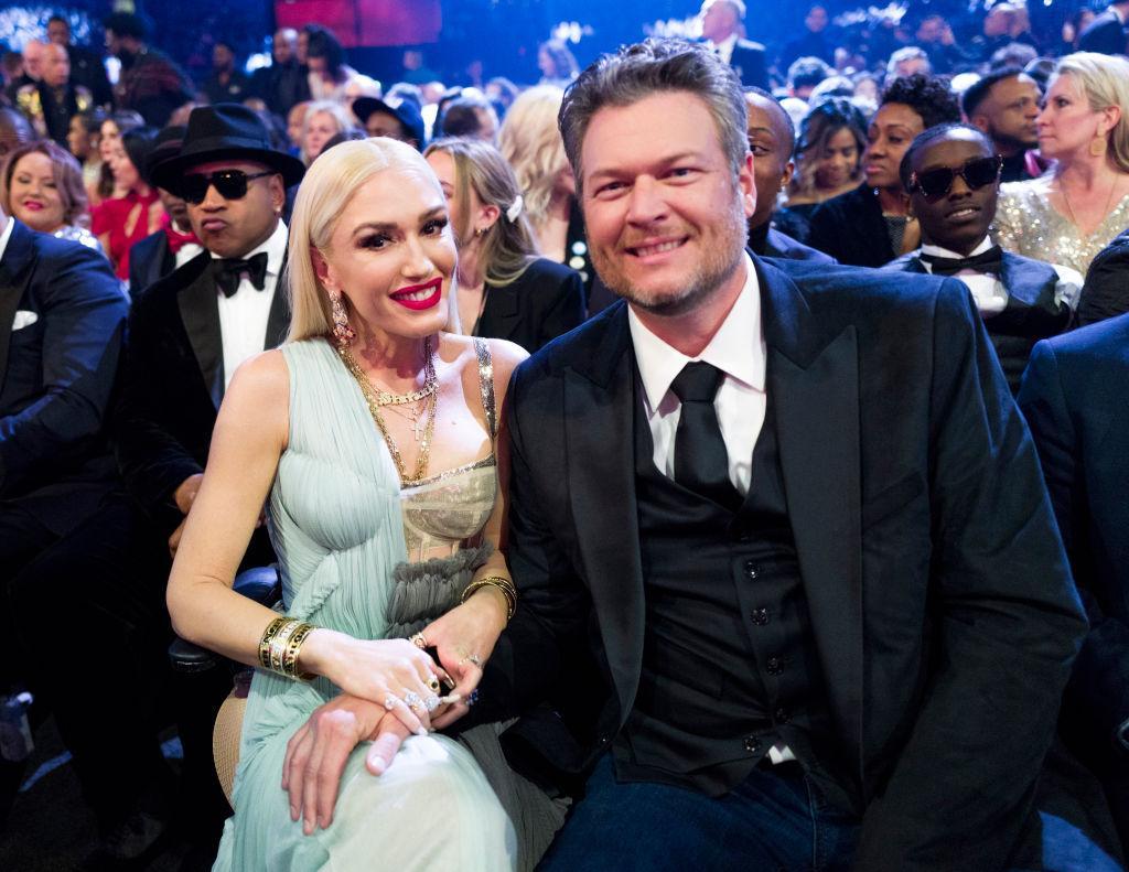 Gwen Stefani and Blake Shelton