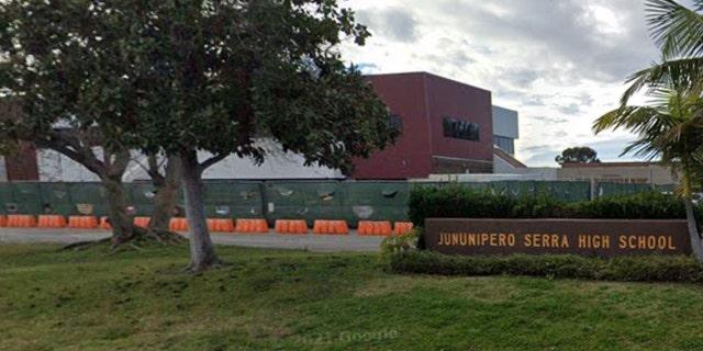 Junipero Serra High School in San Diego's Tierrasanta neighborhood is set to be renamed Canyon Hills High.